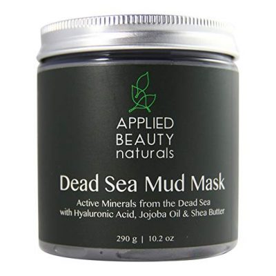 12. Applied Beauty Naturals Dead Sea Mud Mask for Face and Body: