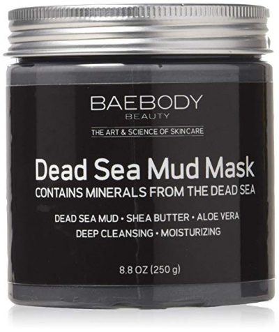11. Dead Sea Mud Mask Best for Facial Treatment by Baebody: