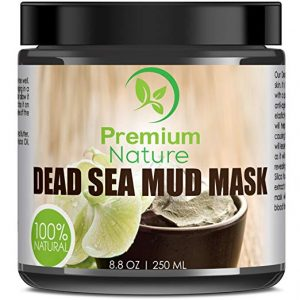 Dead Sea Mud Mask for Face and Body - 8.8 oz by Premium Nature: