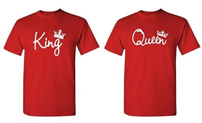 13. King Queen - Couples Two T-Shirt Combo Pack: