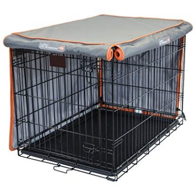 11. Pet Progressions K&H Dog Crate Cover - Tear Resistant Dog Kennel Covers: