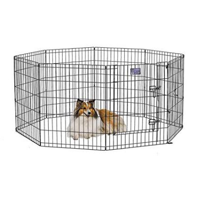 Midwest Exercise Pen/Pet Playpens | 8-Panels Each w/ 5 Height Options Ideal for Any Dog Breed: