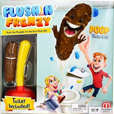 16. Mattel Flushin' Frenzy Game for Kids (Ages 5 and Up):