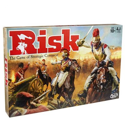 11. Risk Game by Hasbro: