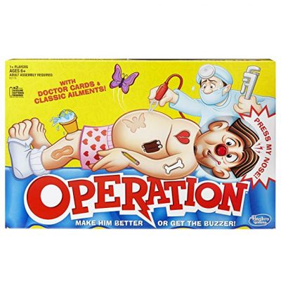 Classic Operation Game by Hasbro: