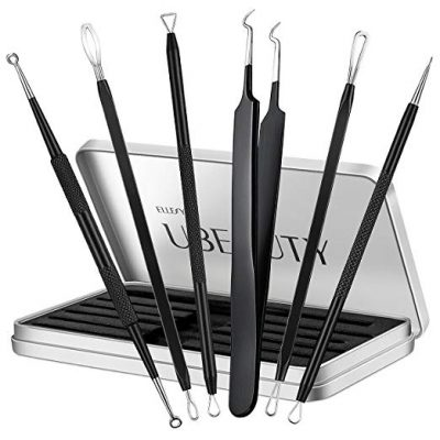 Blackhead Remover, ElleSye 6-PCS Pimple Comedone Extractor by ELLESYE: