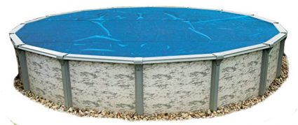 Blue Wave NS110 8-mil Solar Blanket for Round Above-Ground Pools, 18-ft, Blue: