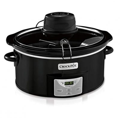Crock-Pot SCCPVC600AS-B 6-Quart Digital Slow Cooker: