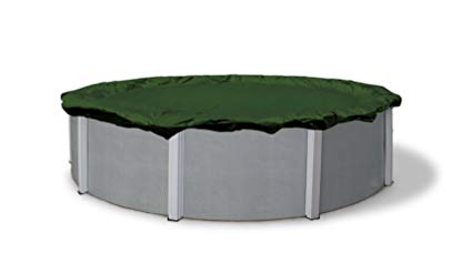 Blue Wave Silver 12-Year 24-ft Round Above Ground Pool Winter Cover: