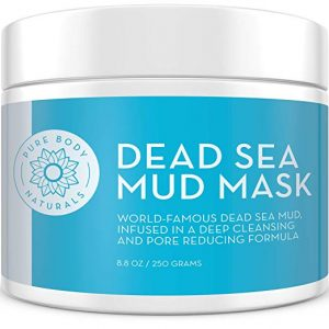 Dead Sea Mud Mask 8.8 Oz Jar | Spa Quality Face Mask for Premium Skin Care by Pure Body Naturals: