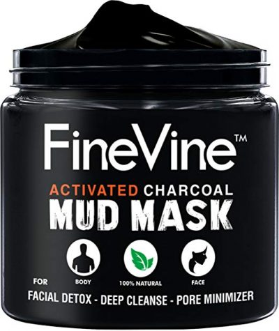 13. Activated Charcoal Mud Mask - Made in USA – by FineVine: