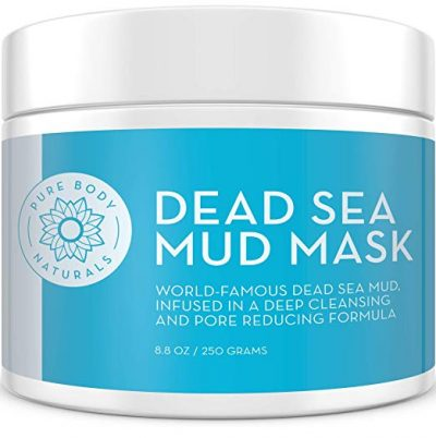 Dead Sea Mud Mask 8.8 Oz Jar | Spa Quality Face Mask for Premium Skin Care by Premium Body Naturals: