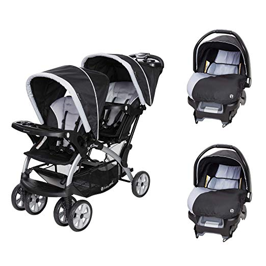 Baby Trend Sit N Stand Tandem Stroller-Sit And Stand Strollers