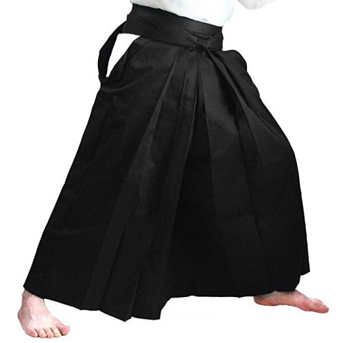 Tozando Pure Cotton Color Stable Aikido Hakama 'TAKE' - Made in Japan