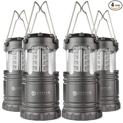 13. Active Research Water Resistant LED Lantern: