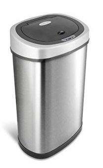 15. NINESTARS DZT-50-9 Automatic Touchless Infrared Motion Sensor Trash Can: