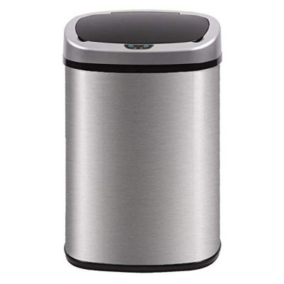 7. BestOffice Kitchen Trash Can for Bathroom Bedroom Home Office: