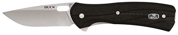 14. Buck Knives 0347BKS VANTAGE PRO Folding Knife with Clip: