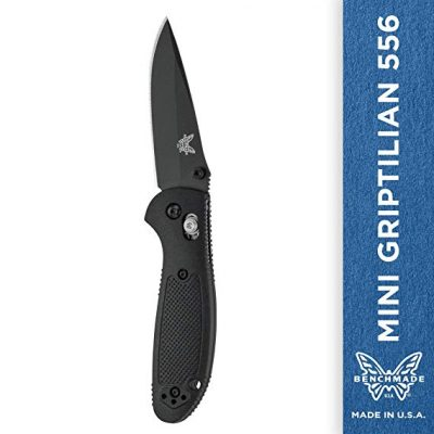3. Benchmade - Mini Griptilian 556 Knife: