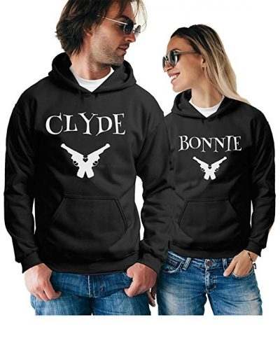 Matching Couple Hoodies - Pretty Pullover Sweatshirts - His and Hers Outfits: