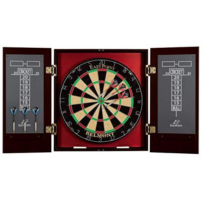EastPoint Sports Belmont Bristle Dartboard and Cabinet Set: