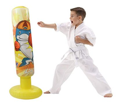 3. Mapow Children's Inflatable Punching Bag-Premium Exercise Toy for Boys and Girls:
