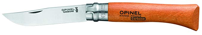 4. Opinel Carbon Steel Folding Everyday Carry Locking Pocket Knife: