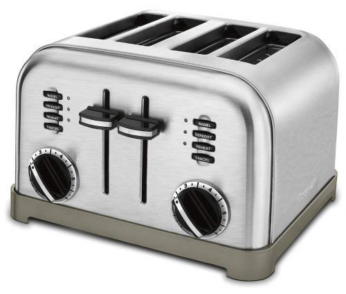 Cuisinart CPT-180 Metal Classic 4-Slice Toaster-4 Slice Toasters