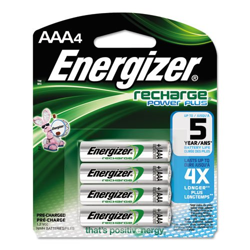 Energizer Products-Energizer-e NiMH Rechargeable Batteries, AAA, 4 Batteries