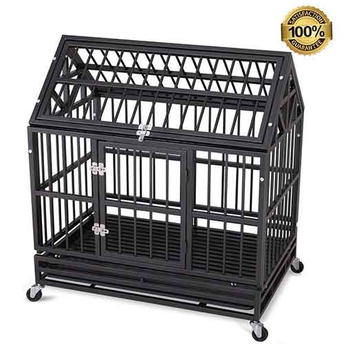 QAQA Heavy Duty Dog Cage