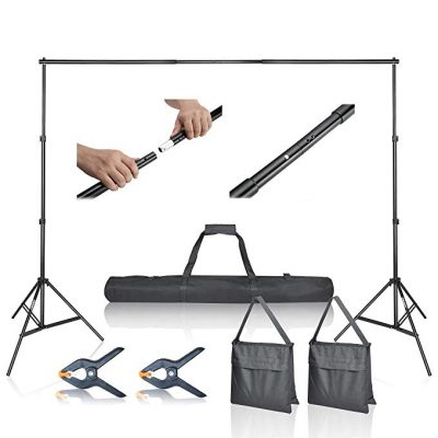 Emart Photo Video Studio 10Ft Adjustable Background Stand: