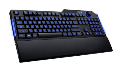 13. Azio Levetron L70 LED Backlit Gaming Keyboard: