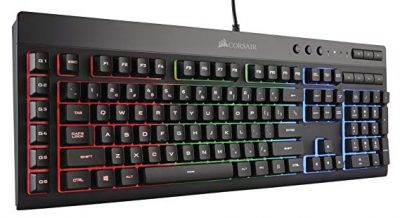 7. CORSAIR K55 RGB Gaming Keyboard: