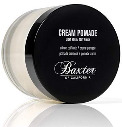 7. Baxter of California Cream Pomade, 2 fl. oz.: