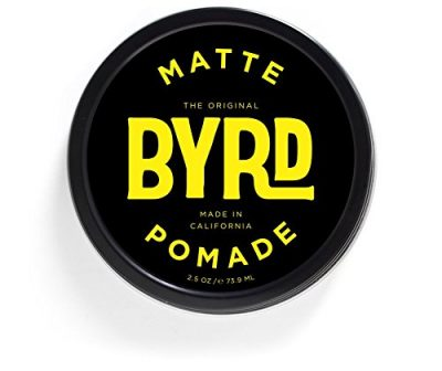 11. BYRD Matte Pomade - Medium Hold, Matte Finish: