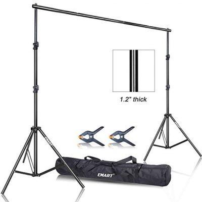 12. Emart Photo Video Studio 9.2 x 10ft Heavy Duty Background Stand: