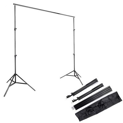 11. Kshioe 2x3m/6.5x9.8ft Background Backdrop Support System Stand:
