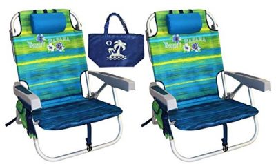 15. Tommy Bahama Backpack Beach Chairs: