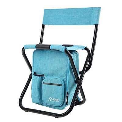 14. sornean Large Detachable Multi-Function Backpack Folding Chair: