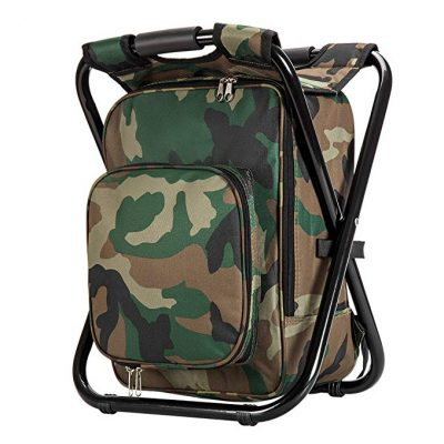 11. Upgrade Large Size Ultralight Backpack Cooler Chair: