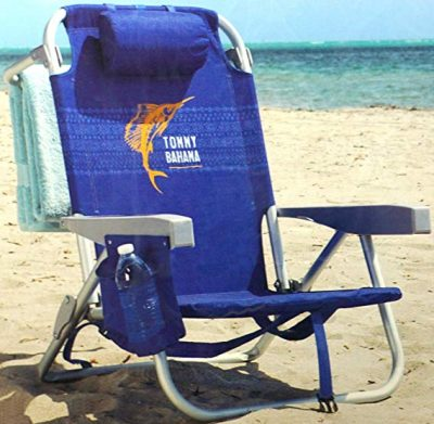 8. Tommy Bahama 2016 Backpack Cooler Chair: