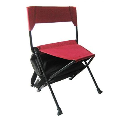 4. Zenree Folding Backpack Camping Chairs: