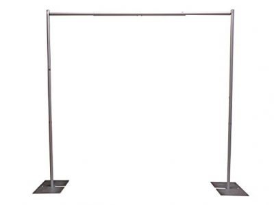 OnlineEEI Premier Portable Pipe and Drape Backdrop Kit: