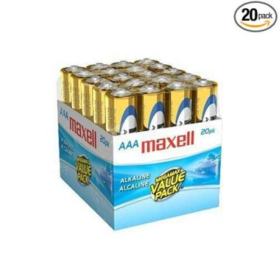 15 Maxell 723849 Ready-to-go Long Lasting and Reliable Alkaline Battery: