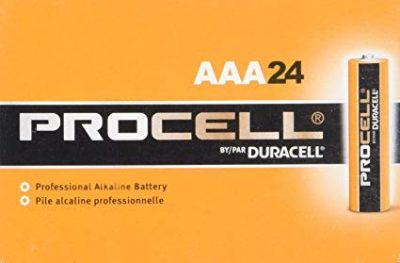 11. Duracell 32-MA92-DH0O Procell Alkaline Battery, AAA (Pack of 24):