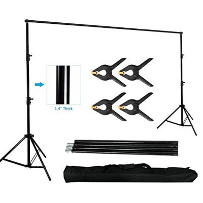 10 x 10ft Photo Video Studio Backdrop Background Stand:
