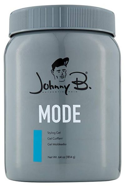 17. Johnny B Mode Styling Gel (64 oz):