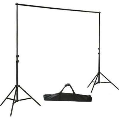 ePhotoInc 8.5ft x 10ft Photography Studio Backdrop Photo Video Support System: