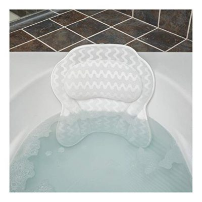 2. QuiltedAir Bath Pillow - Luxury Bathtub Pillow:
