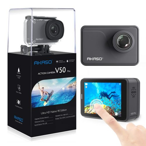 AKASO V50 Pro Native 4K/30fps 20MP WiFi Action